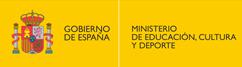 con el patrocinio del Ministerio de Educación, Cultura y Deporte, Gobierno de España